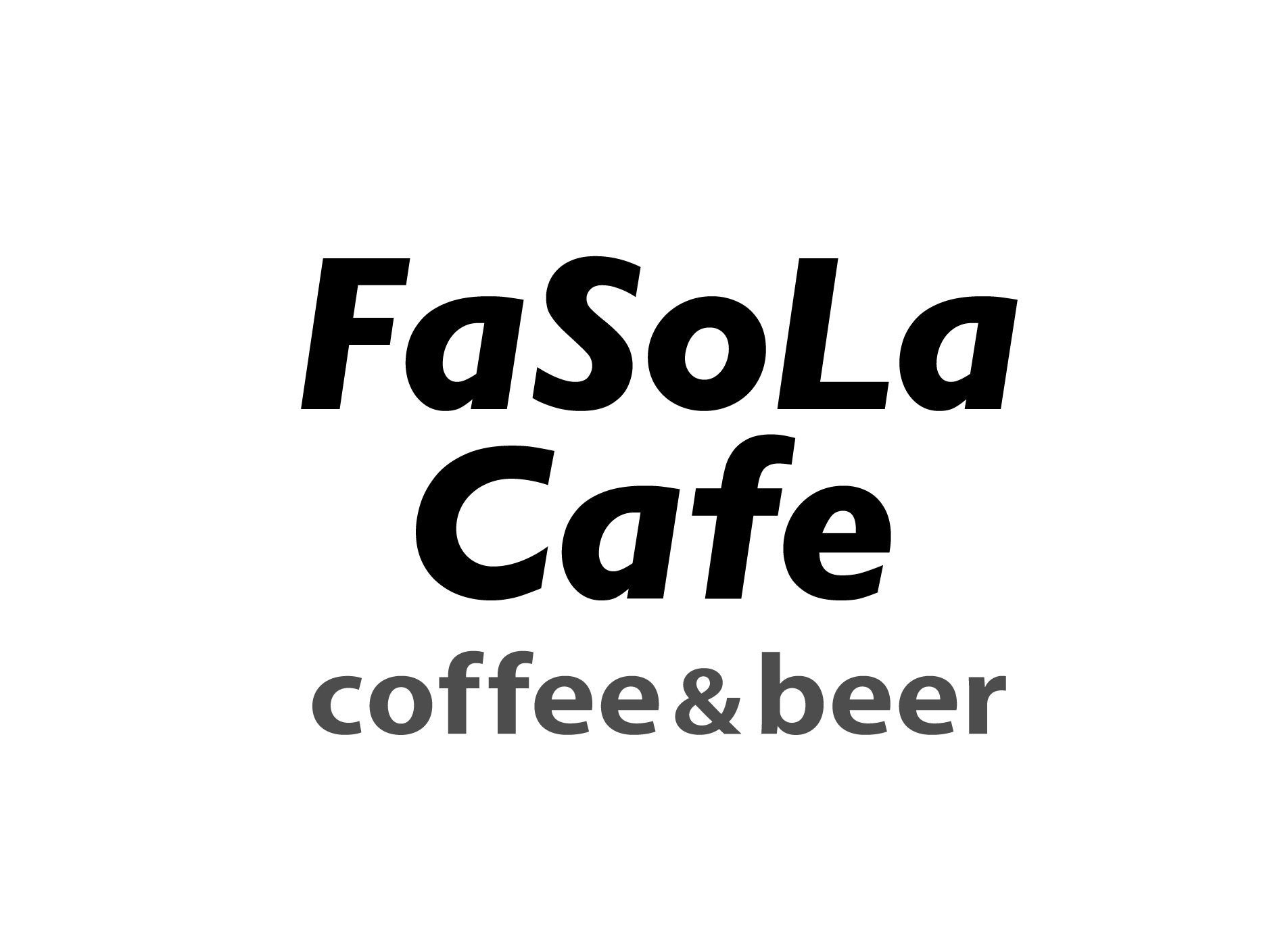 FaSoLa Cafe coffee &beer(第5サテライト店)ロゴ