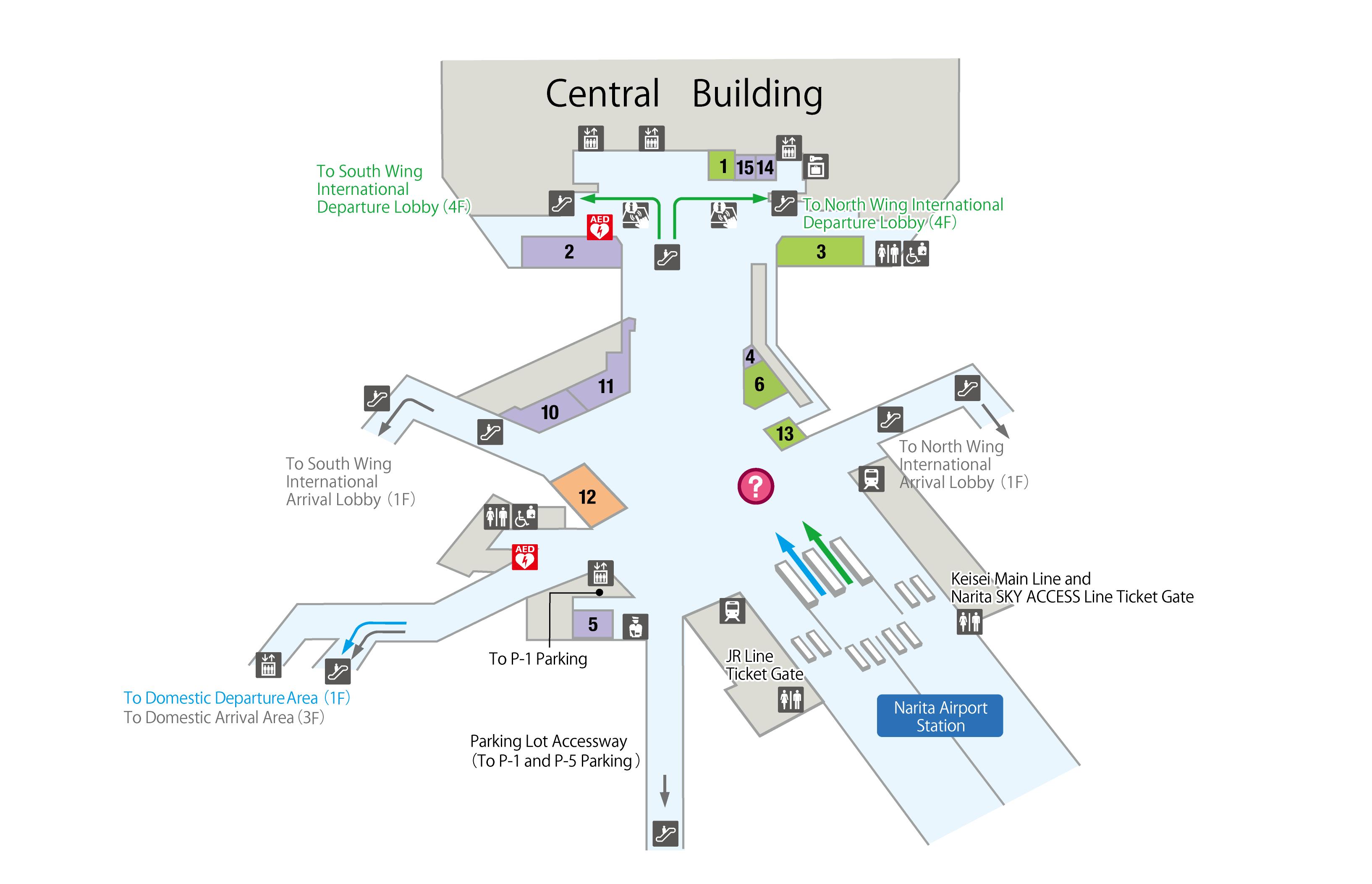 tokyo narita airport map Floor Map Narita International Airport Official Website tokyo narita airport map