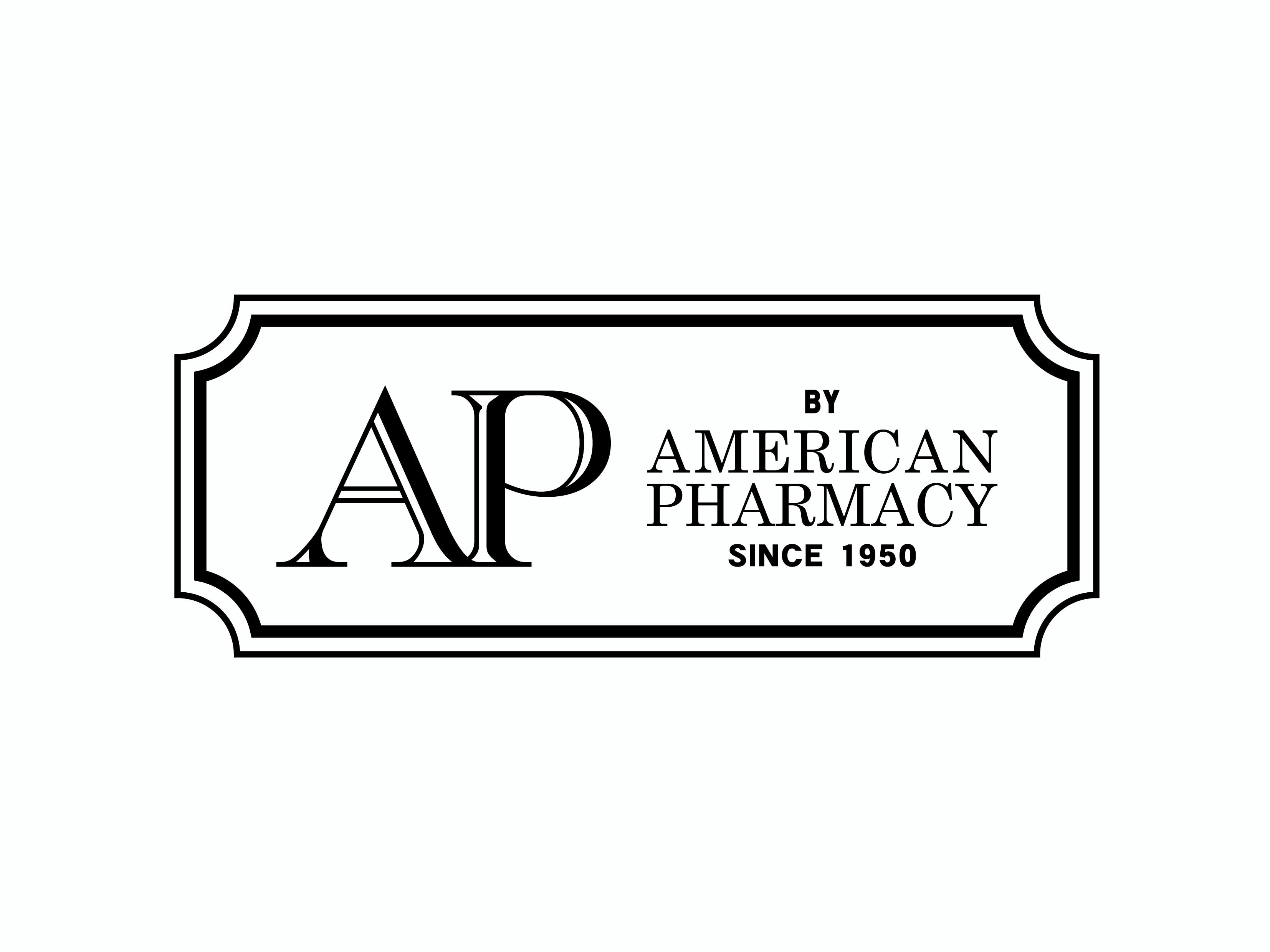 AP by AMERICAN PHARMACYロゴ