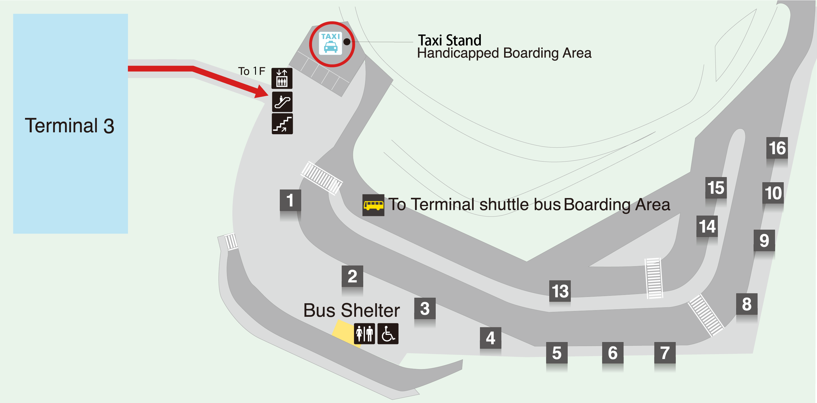 Terminal 3 Taxi Stand