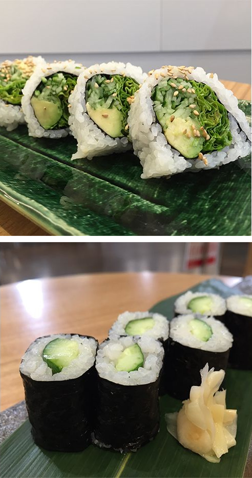 VEGETABLE ROLL&Cucumber Roll