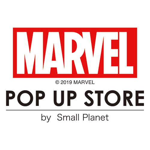 MARVEL POP UP STORE ロゴ