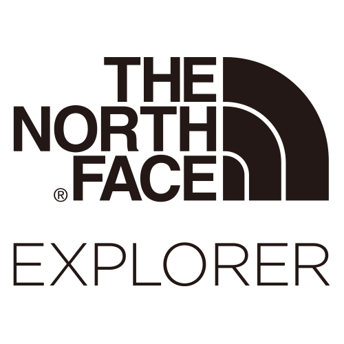 THE NORTH FACE EXPLORER ロゴ