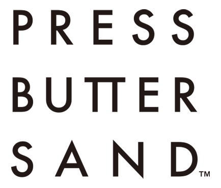 PRESS BUTTER SAND ロゴ