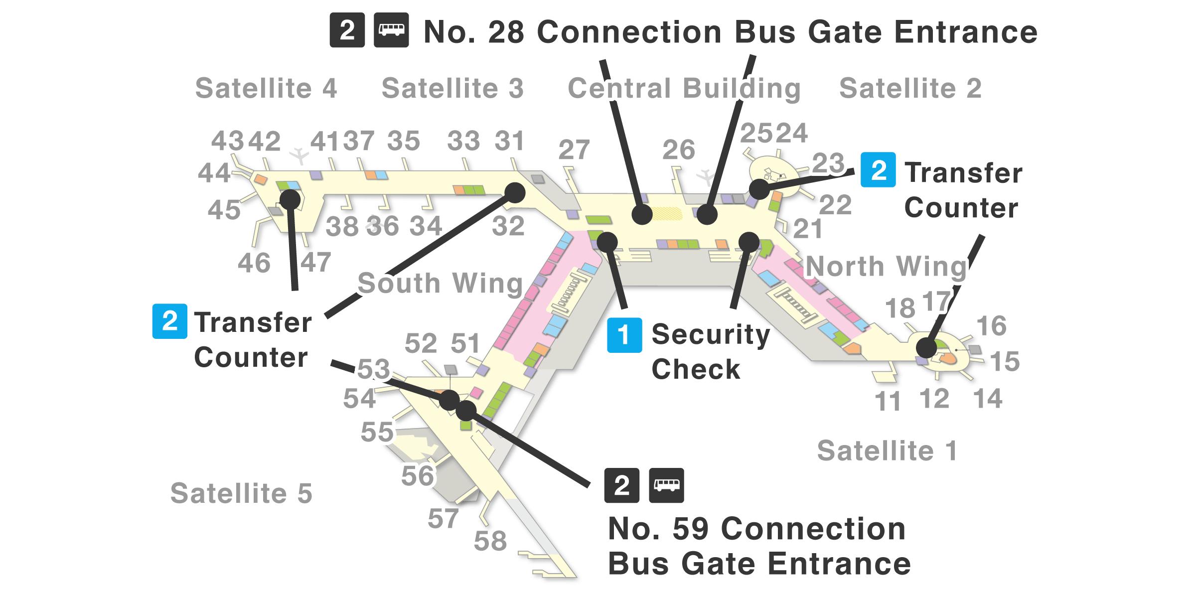 Narita Airport Gate Map Terminal 1 | NARITA INTERNATIONAL AIRPORT OFFICIAL WEBSITE