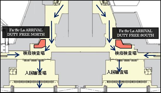 店舗フロアマップ図
