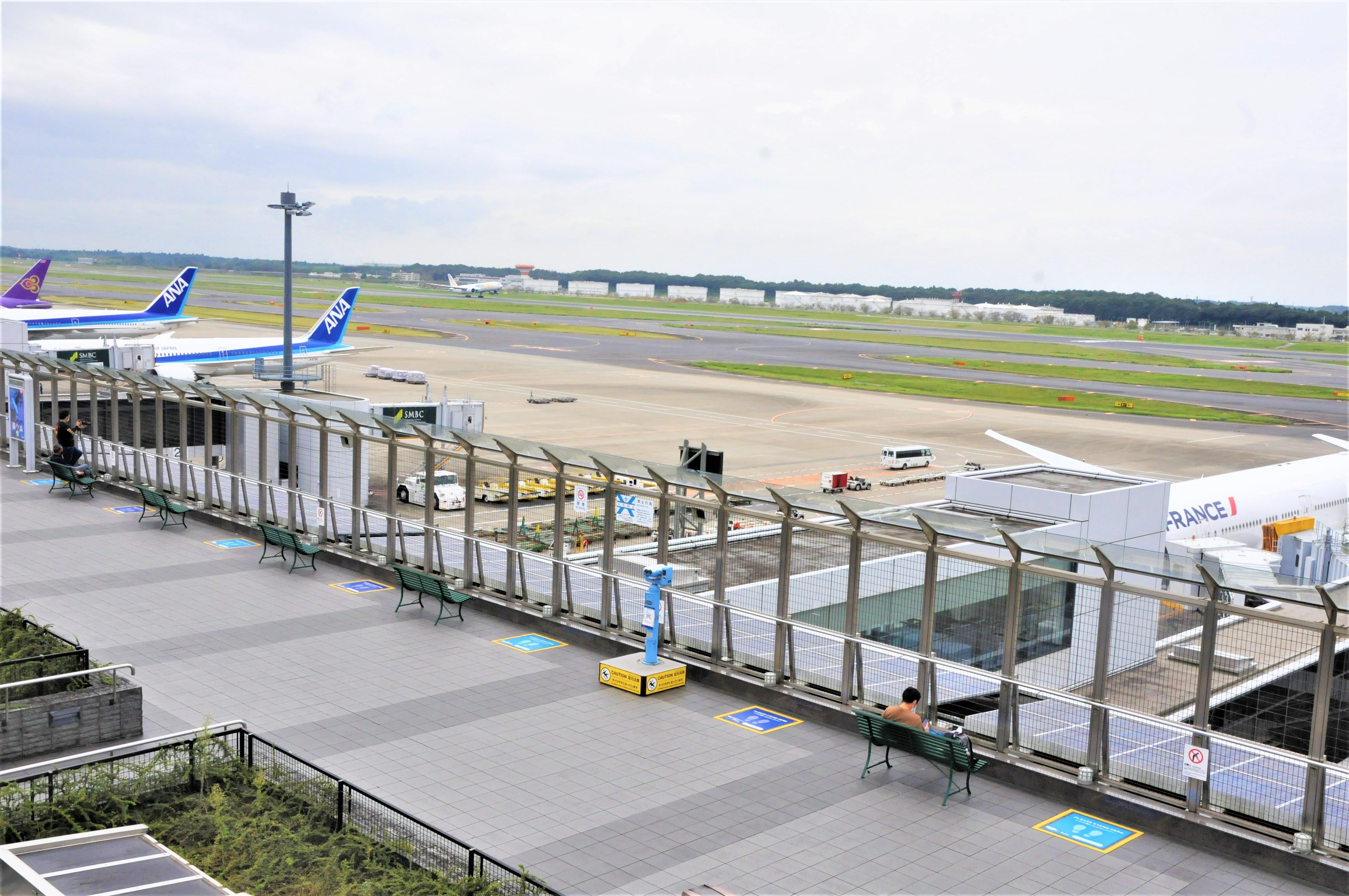 成田空港の「飛行機撮影   -
